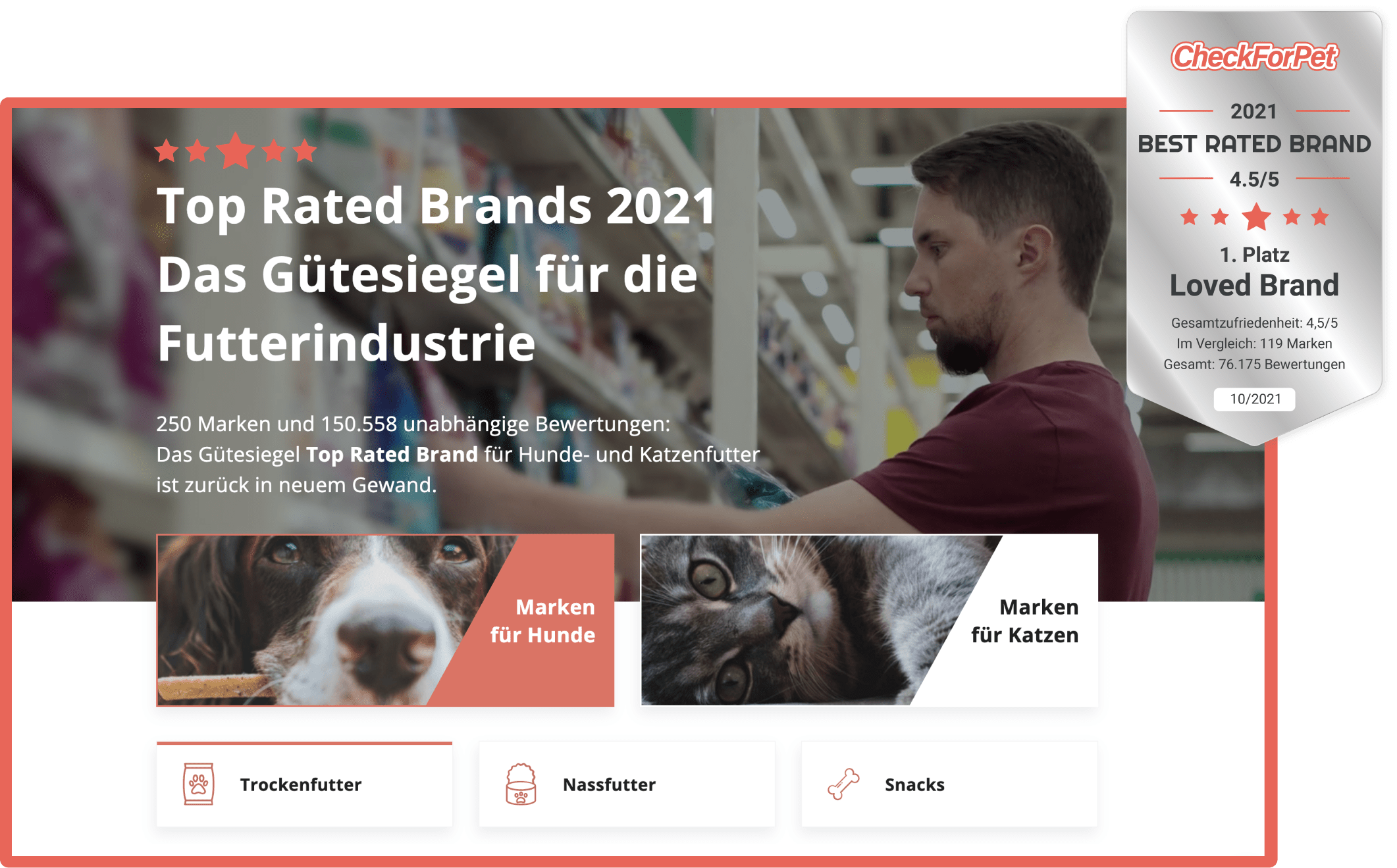 TOP RATED BRANDS 2021
